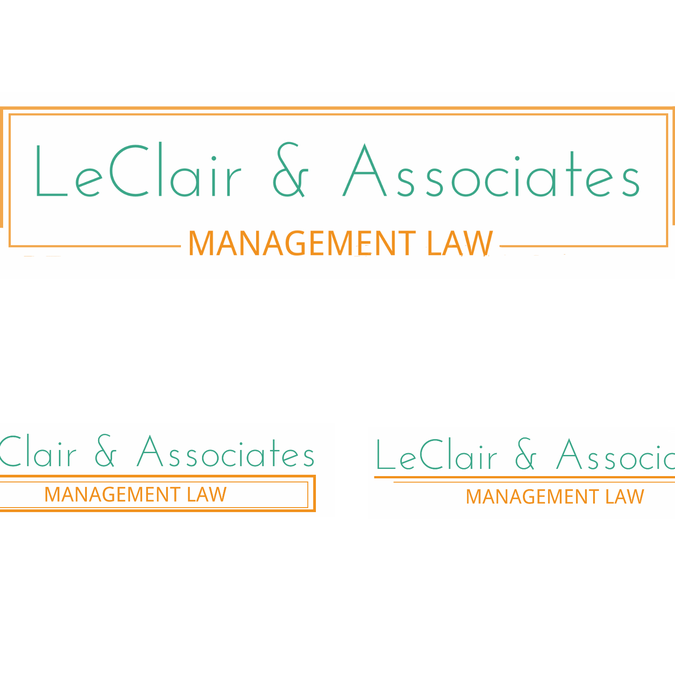 Not your typical boring law firm logo by Elize Valen