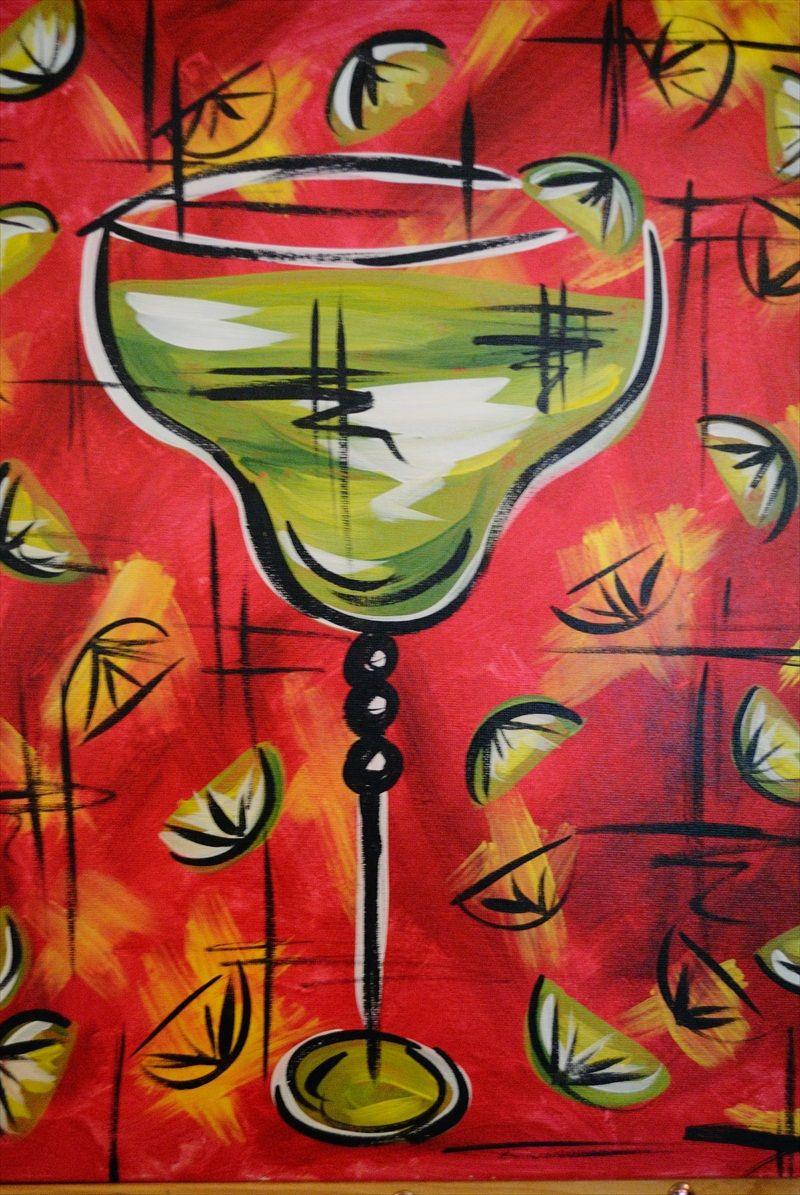 Margarita Painting Whimsy Art Night Painting