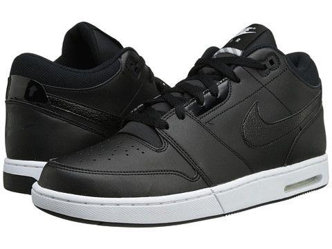 Nike Air Stepback White Blue Casual Shoes - Men