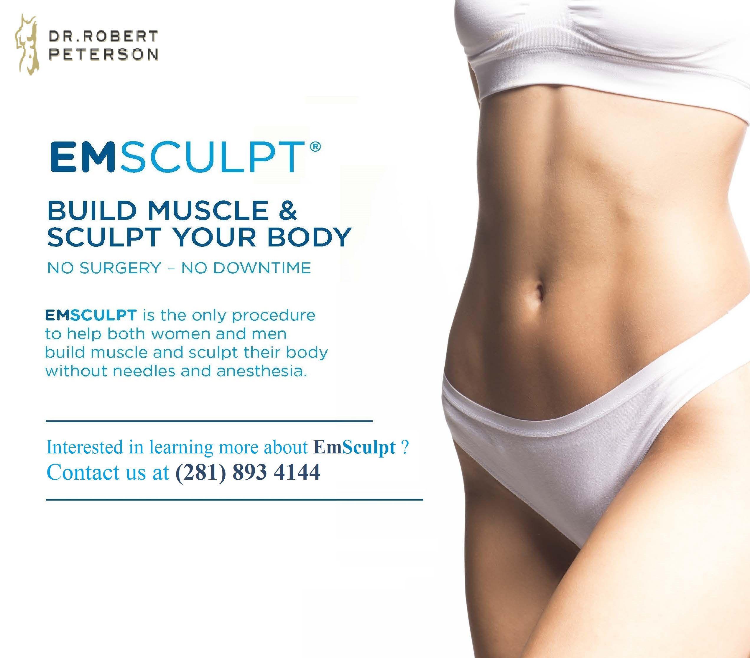 Build Muscle & Sculpt Your Body! #Emsculpt #NonSurgical