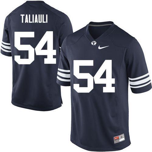 Brigham Young Cougars Merrill Taliauli #54 Nike Football ...