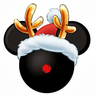 CHRISTMAS MICKEY MOUSE CLIP ART | Celia's party | Pinterest ...