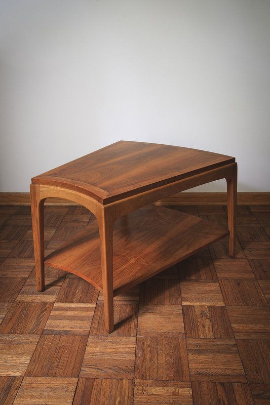 Lane Rhythm Wedge Side Table In North Side, Chicago, IL, USA ~ Krrb. Water  RingsMid Century FurnitureWedgeChicagoPlatformWedges