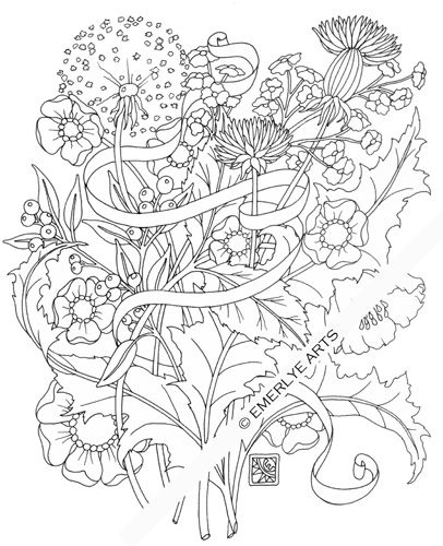 Adult Coloring Pages Adult Coloring Flowers Coloring Pages