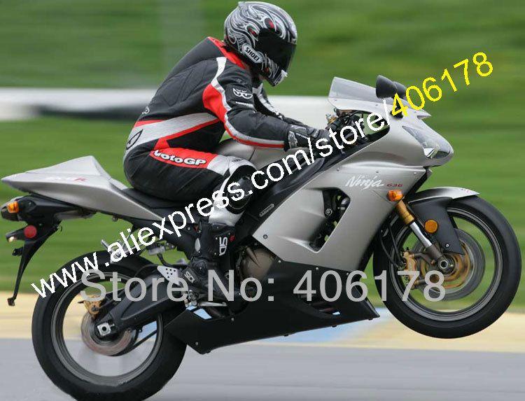 Motor Frame Slider Motorcycle Carbon Frame Slider No Fairing Cut Crash Protectors Fit For Kawasaki ZX-6R 636 2005 2006 Carbon Fiber