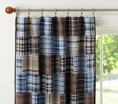 Madras Blackout Curtain Curtains Boys Room Curtains