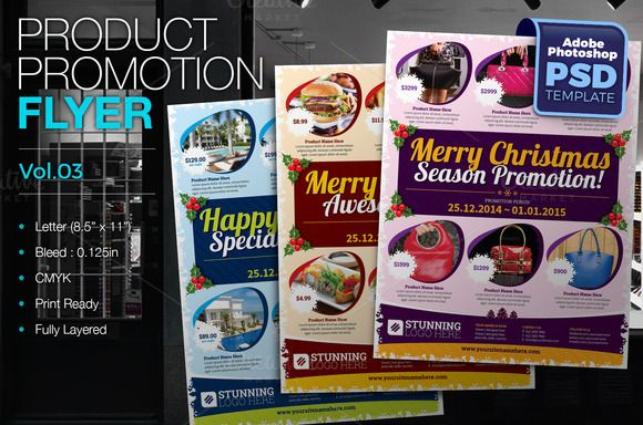 Multipurpose Product Promotion Flyer Flyer Template