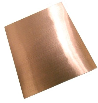 Faux Brushed Copper Adhesive Sheet Copper Copper Sheets Adhesive