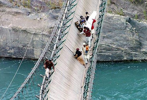 Most Scary Pictures Ever | Is This the Most Dangerous Bridge in World?? Well i dont know but it ...