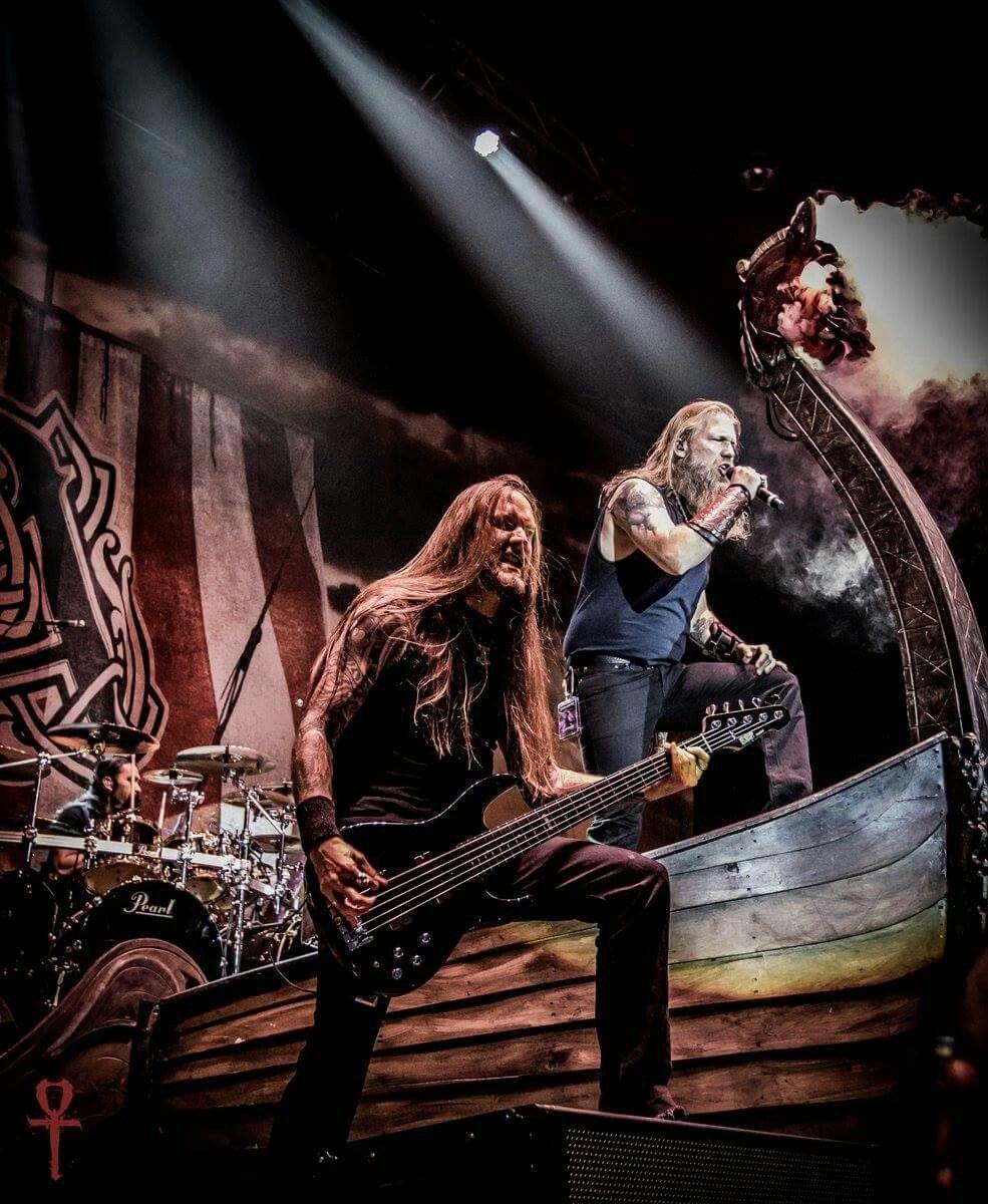 Pin by Metal Music Gear on bandas | Amon amarth, Viking