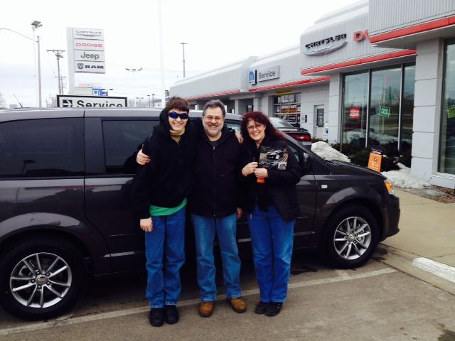 2014 Dodge Grand Caravan - Happy Family