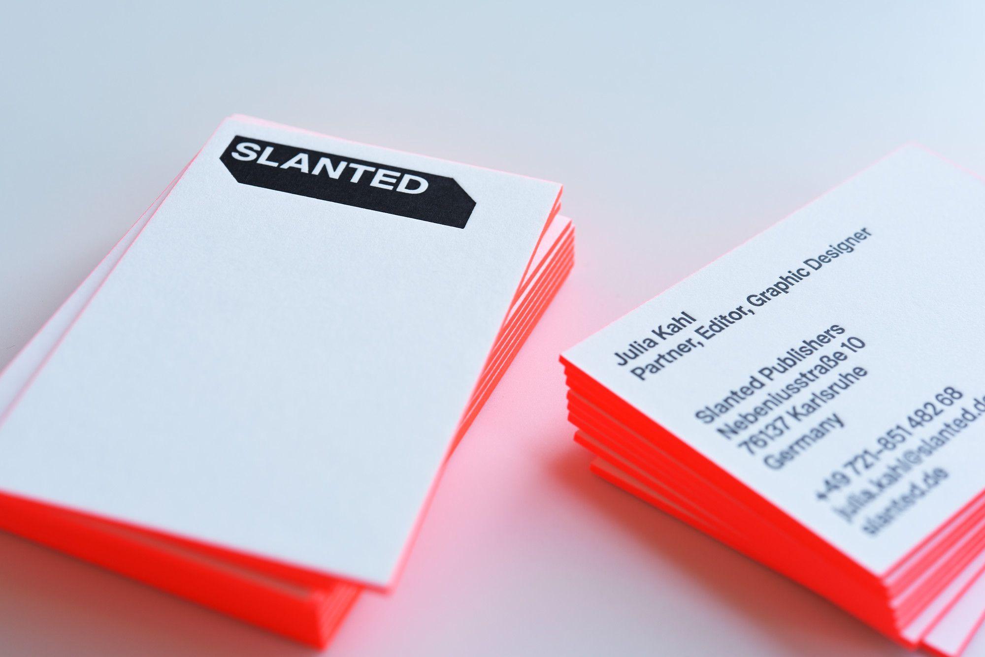 Drucktechnik Letterpress Veredelung Color Edge Kunde Www