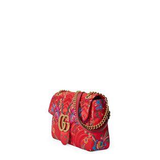 01e02c27fcf Gucci GG Marmont floral jacquard shoulder bag - view 2