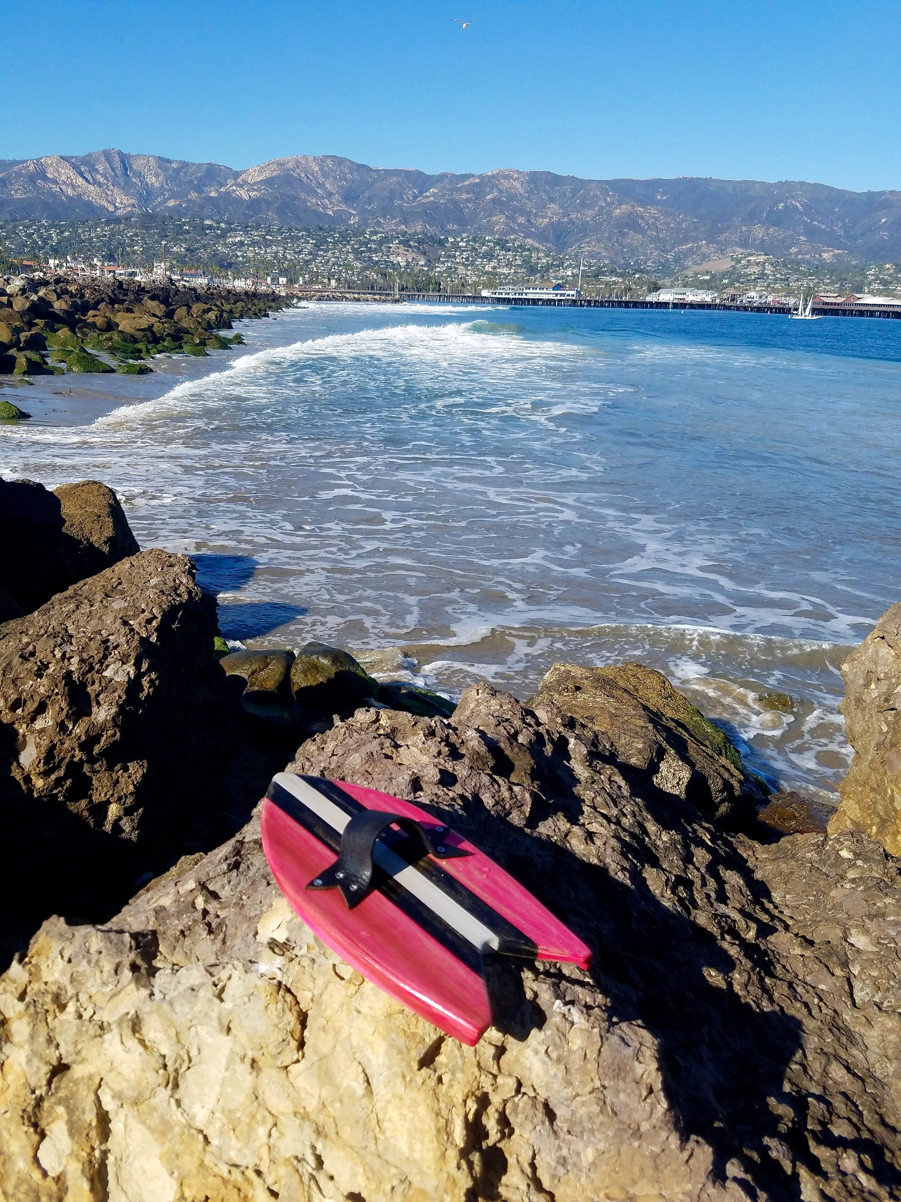 Santa Barbara Harbor - Sandspit surf break. Handcrafted Handplanes ...
