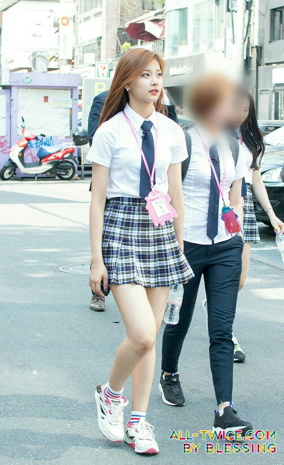 Tzuyu School Uniform School Girl Outfit Girl Outfits Kpop Girls