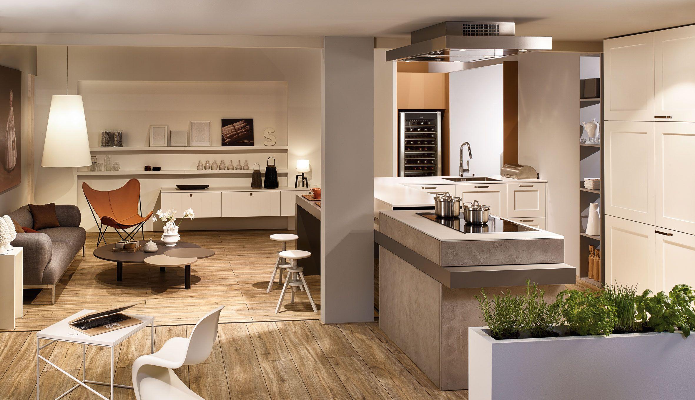 Kh Küche Seidenmatt Lackiert Verkehrsweiss Beton Grau Kh Kitchen Silky Matt Lacquered Traffic White Concrete Grey