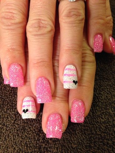 Valentine By Alisals From Nail Art Gallery Nail Art Designs