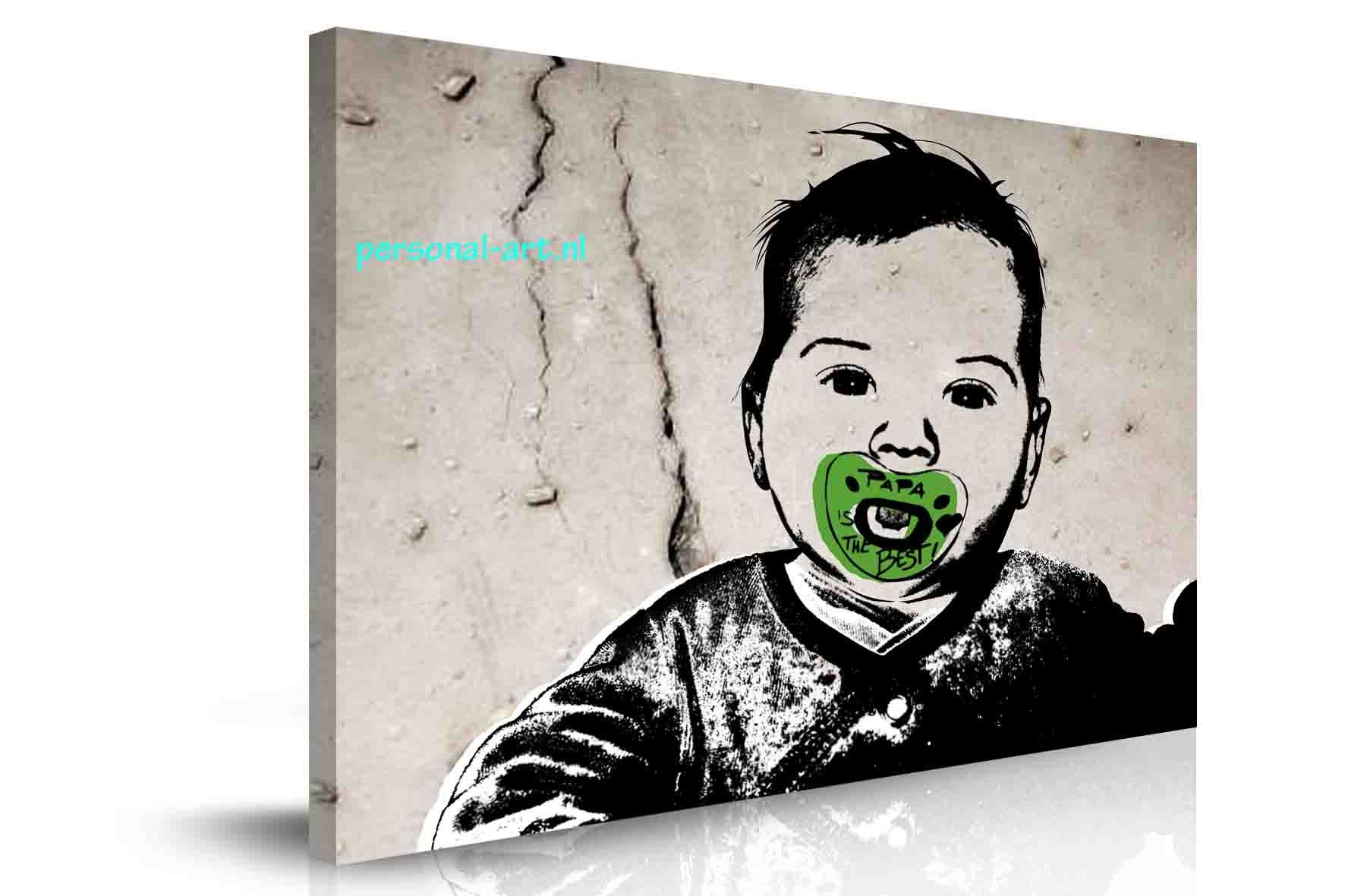 Jouw eigen pop-art. Made by Personal-Art.nl Leuk voor Kerst of cadeau voucher voor Sinterklaas