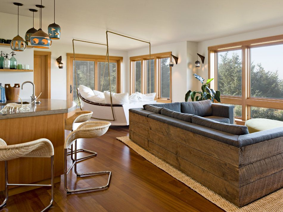 Oregon Coast House U2013 Jessica Helgerson Interior Design WOW Boat Swing Bed  Couch N Other Couch