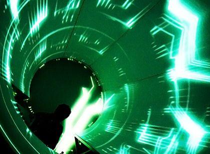 Datsik Vortex Lumen Art Design Stage Design Cover Design