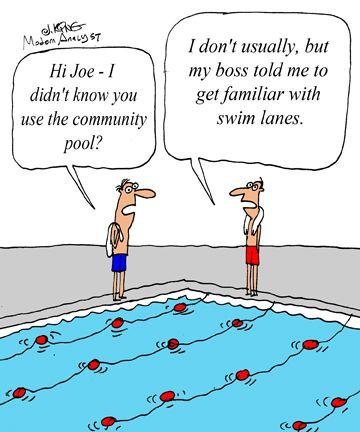 humor cartoon get to know the swimlane diagram. Black Bedroom Furniture Sets. Home Design Ideas