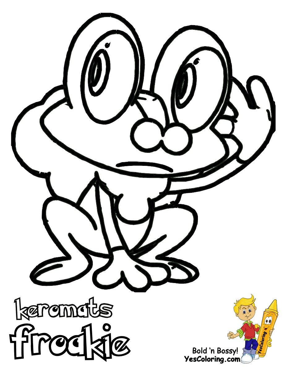 Froakie Coloring Pages - Coloring Home