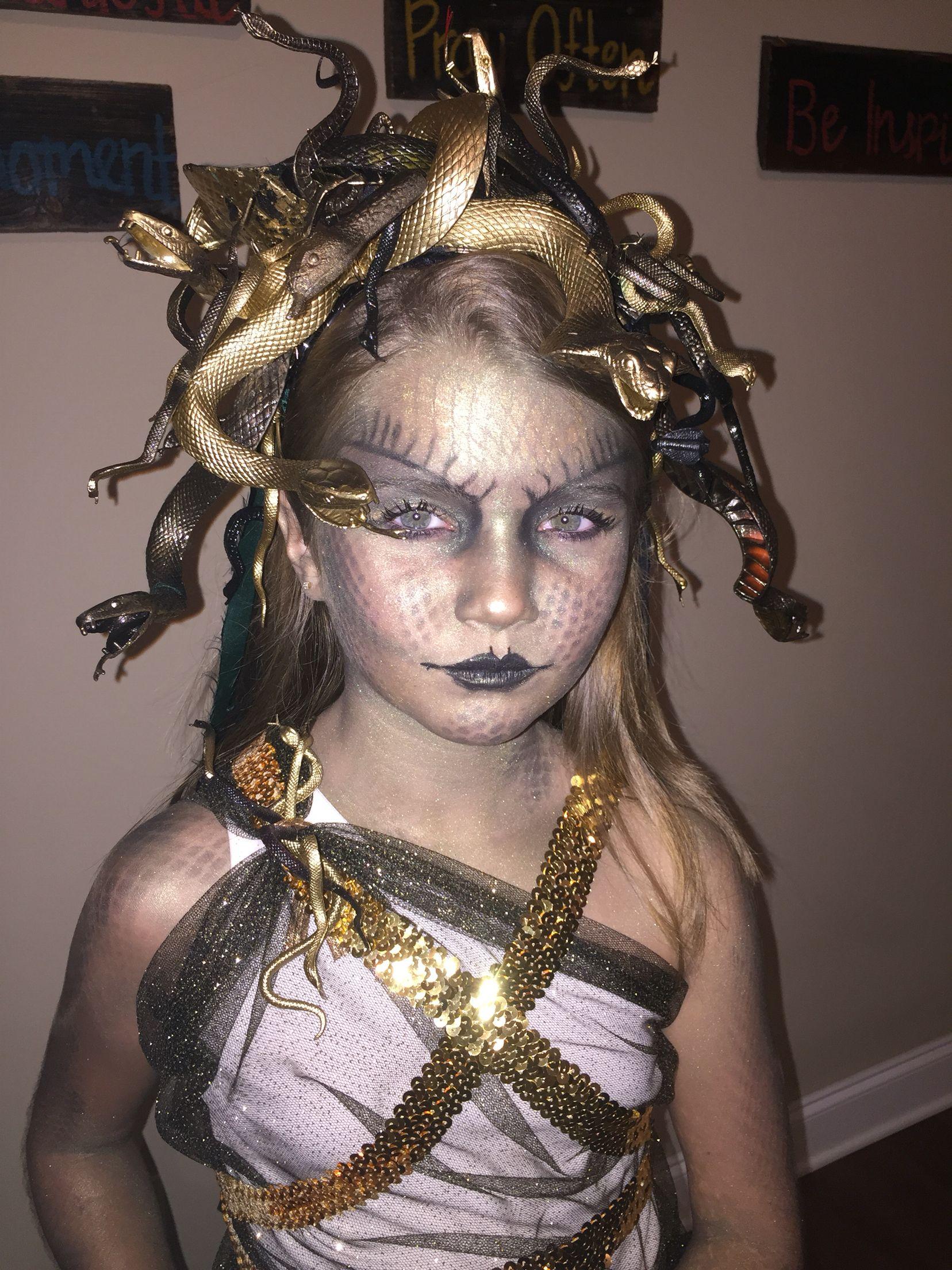 girls medusa costume | medusa costume in 2018 | pinterest