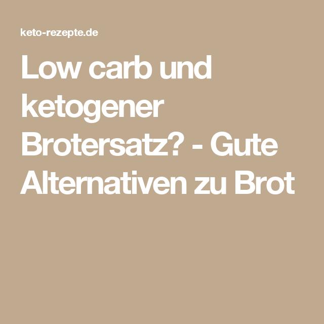 Low carb und ketogener Brotersatz? - Gute Alternativen zu Brot