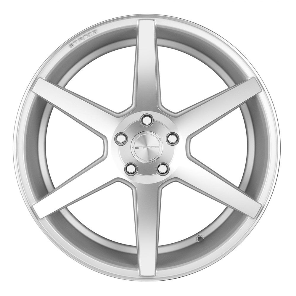 """20"""" STANCE SC6 SILVER CONCAVE WHEELS RIMS FITS ACURA TL"""