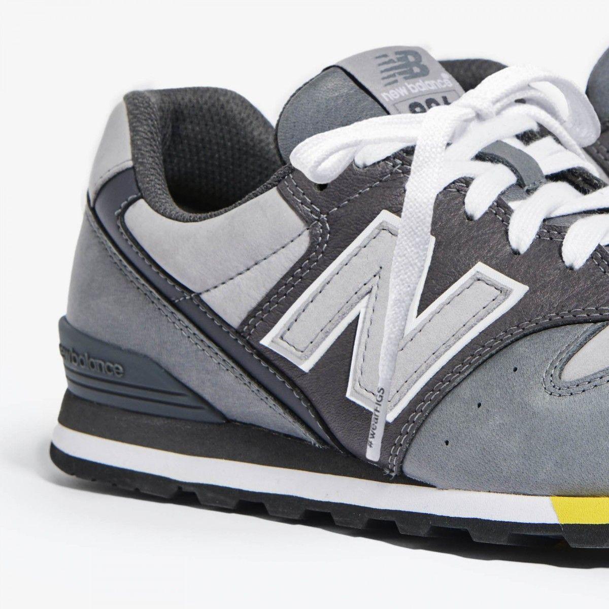 Grey Figs X New Balance Womens 996 Sneakers Grey New Balance