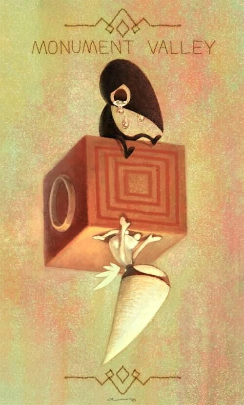 By Aso20 Via Twitter Dreapp Com Monument Valley Game Art
