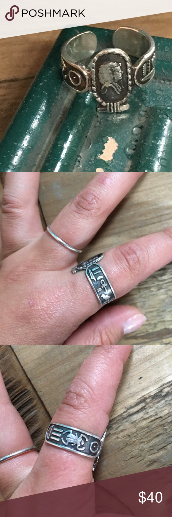 Hieroglyphic ring | Ring, Customer support and Delivery