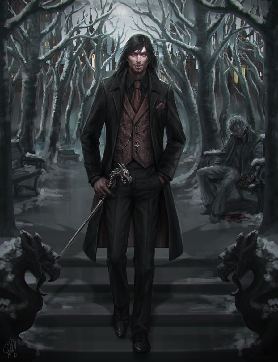 Dracula Commission By Naznemati Vampire Undead Prince King Modern