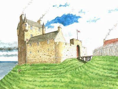 Reconstruction of Greenan Castle