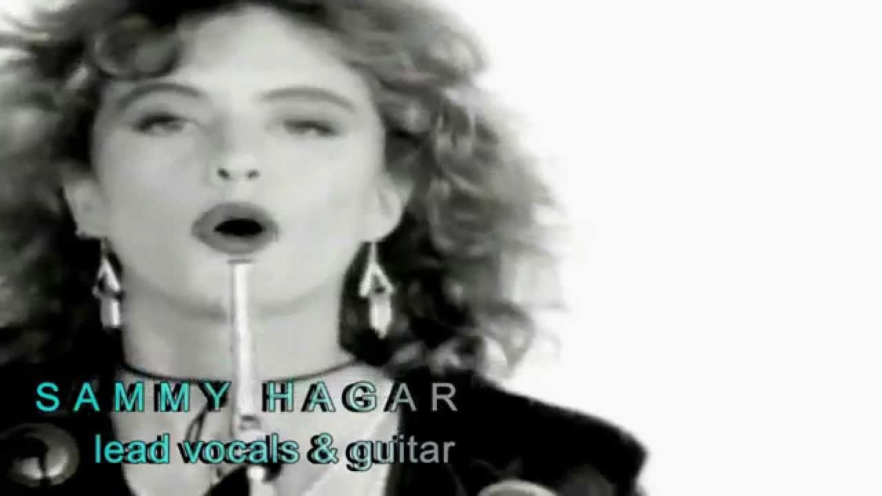 Finish What You Started Van Halen With Sammy Hagar Van Halen Like This Song