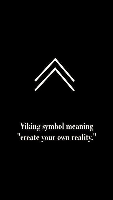 Law Of Attraction Tattoos : attraction, tattoos, Viking, Symbol, Symbols,, Tattoos,, Tattoo, Quotes