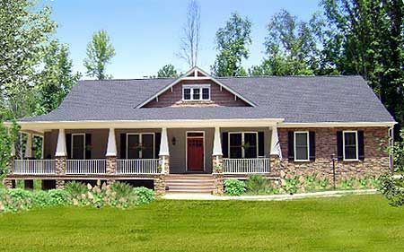 Plan 2589dh wraparound with porch and sunroom in back for Garage total ozoir la ferriere
