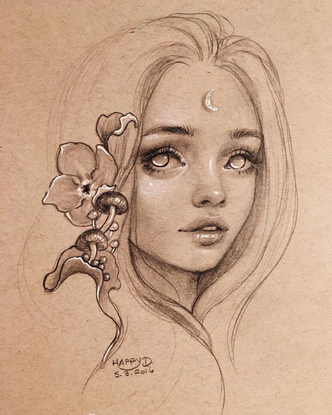 6 527 Vind Ik Leuks 49 Reacties Happy D Happydartist Op Instagram Finished Another Patreon Drawing Last Night With Images Happy D Artist Sketches Cool Drawings
