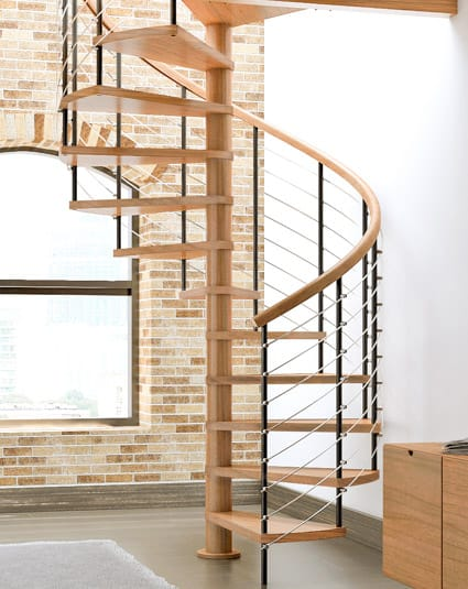 Best Compression Series Configurable Spiral Stair Paragon 400 x 300