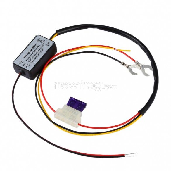 Drl Controller Auto Car Led Daytime Running Light Relay Harness Dimmer Photo 1 Running Lights Car Led Car Lights