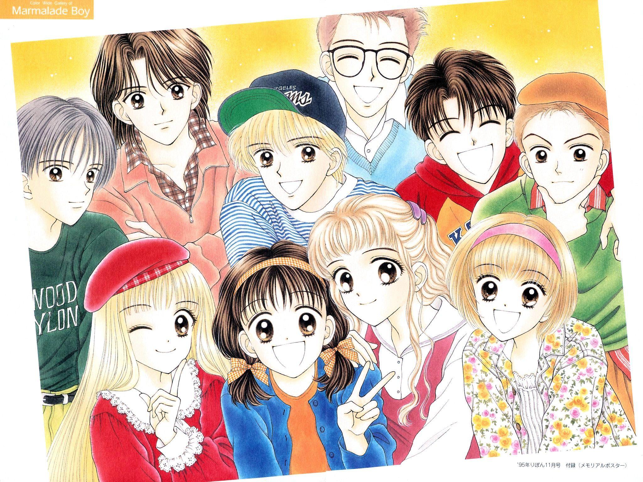 Marmalade Boy Anime Pinterest Manga, Marmalade e Boys