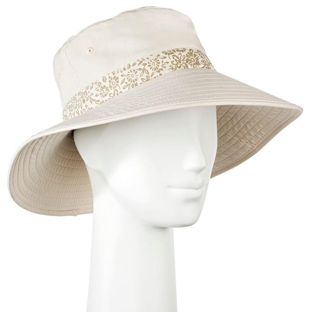 c10cde18696 Women s Floppy Hat Tan - Merona Women s Accessories