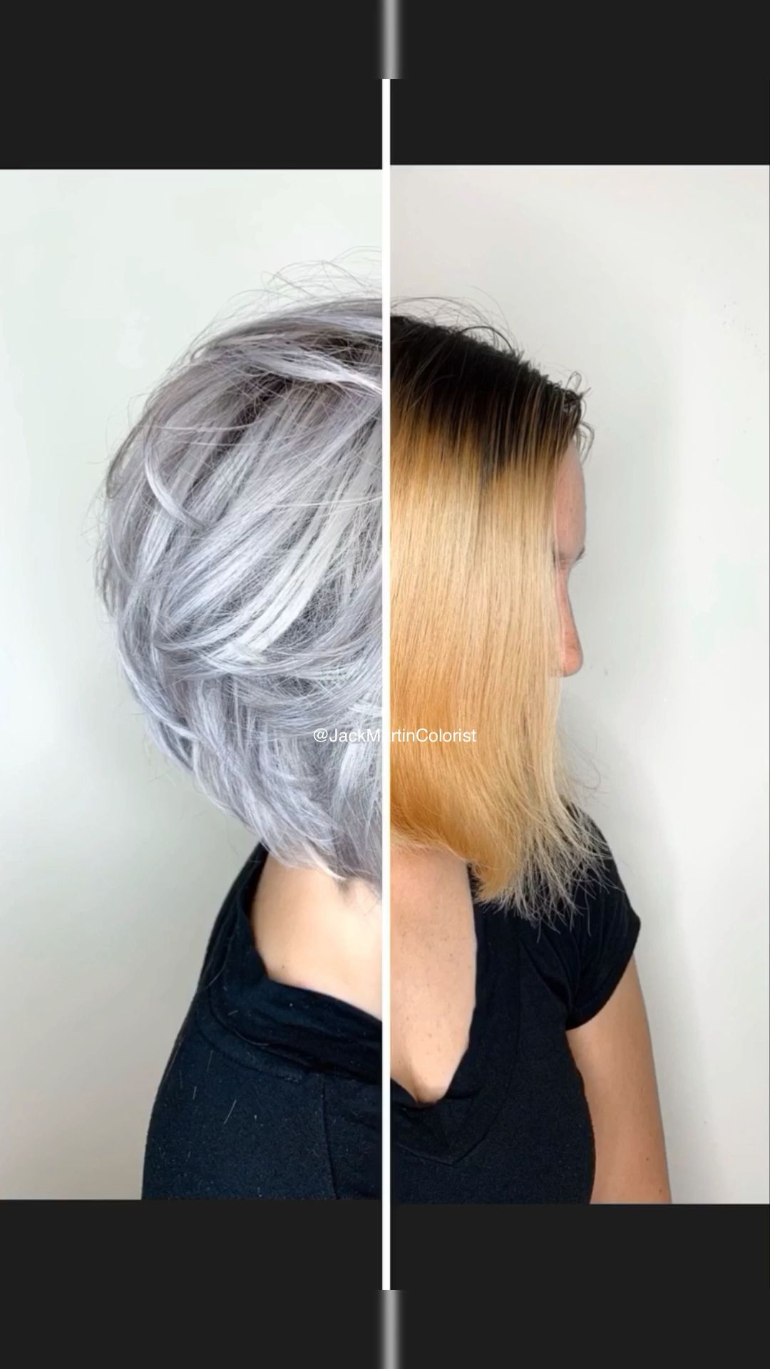 Brassy Hair To Silver Check The Link Below For Detailed Formula Video Grey Hair Color Silver Silver Hair Color Hair Styles