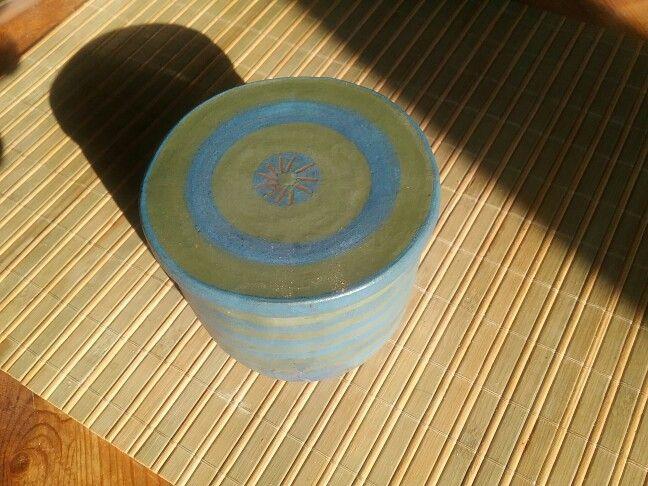 Keramik Butterdose