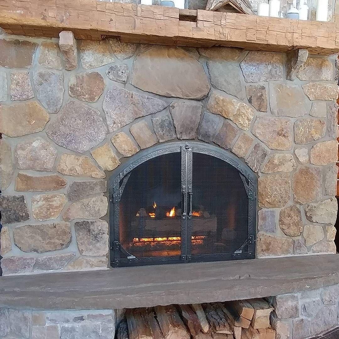 Custom Arched Screen Doors Gas Logs Glass Door Gas Logs Fireplace