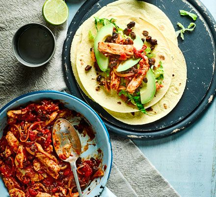 Chipotle chicken wraps recipe chipotle chicken chipotle and meals bbc recipes forumfinder Images