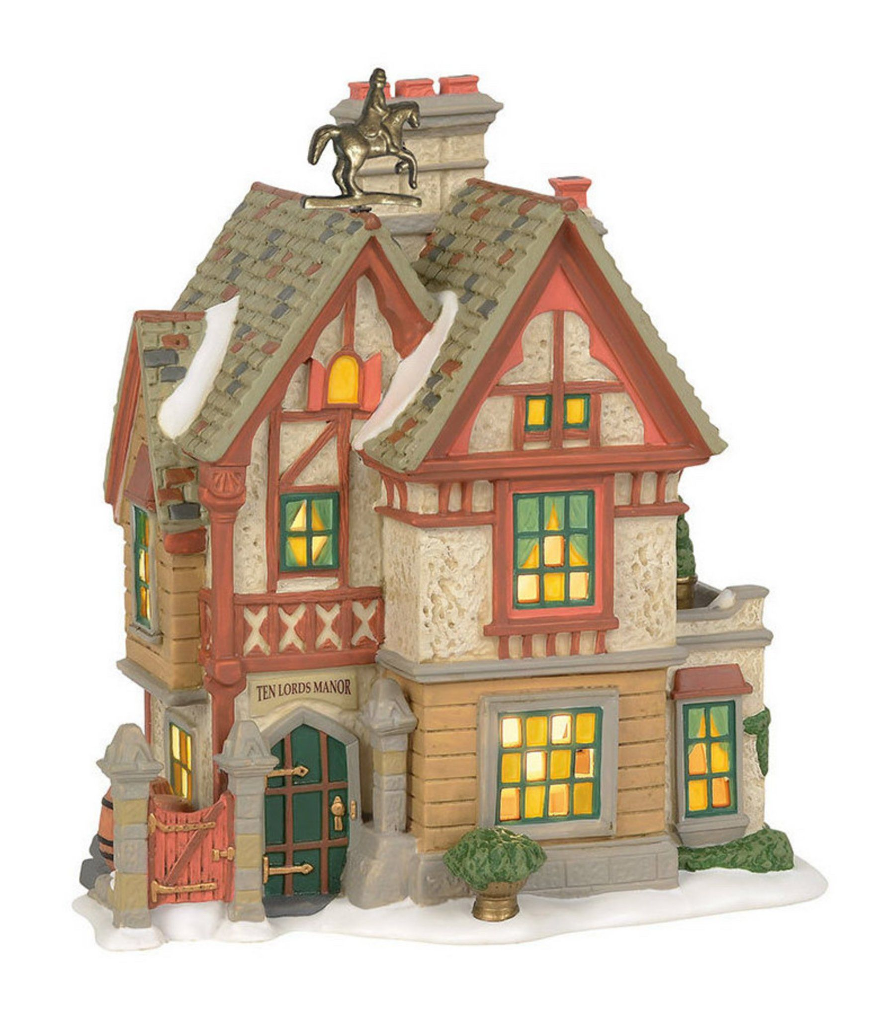 Department 56 Dicken's Village Ten Lords Manor | Dillard's #department56