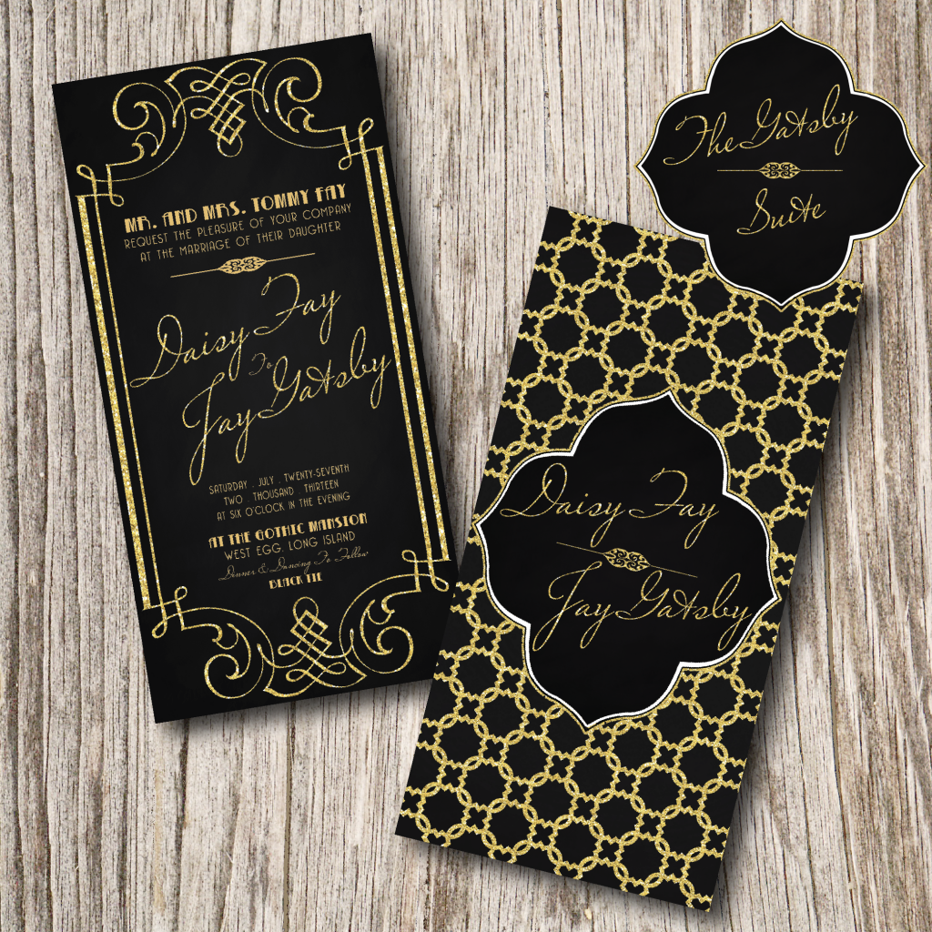 Gatsby Wedding Invitation | Bridal Ideas & Inspiration | Pinterest ...