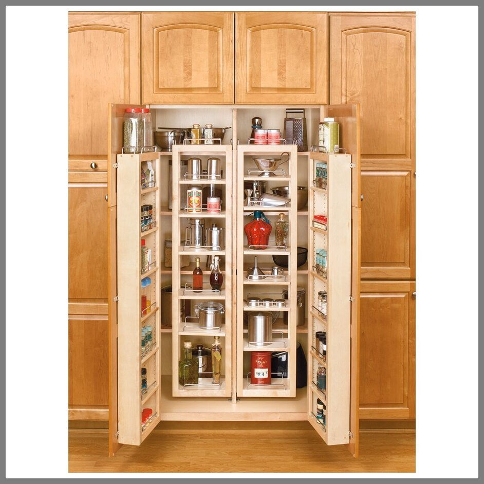 53 Reference Of Freestanding Pantry Cabinet Lowes In 2020 Pantry Door Rack Pantry Storage Cabinet Pantry Door Storage