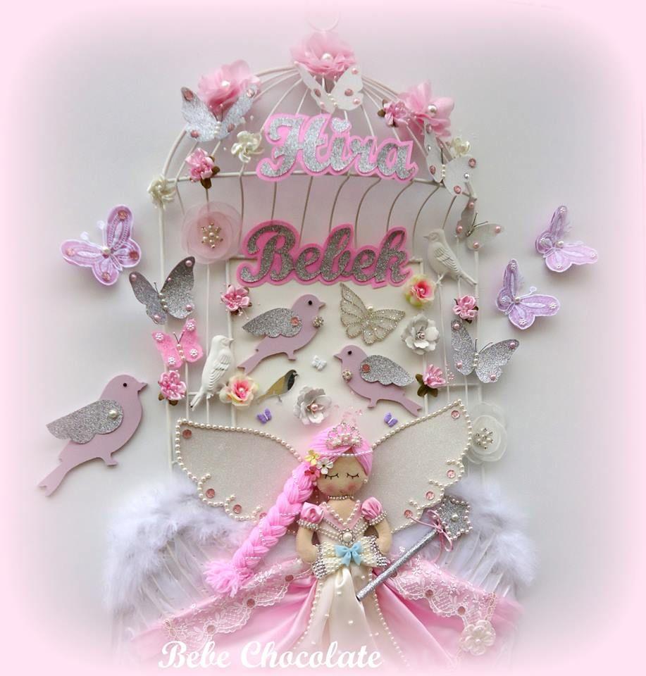 bebek doğum, keçe kapı süsü, ahşap kapı süsü, bebek kapı süsü, balkabağı kapı süsü, bebek anı defteri, prenses, bebek doğum, kafes kapı süsü, ahşap kuş, felt princess